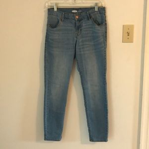 Old Navy Super Skinny Light Wash Jeans - Like New!